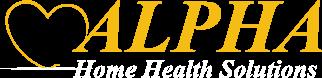 Alpha Home Health Solutions - logo